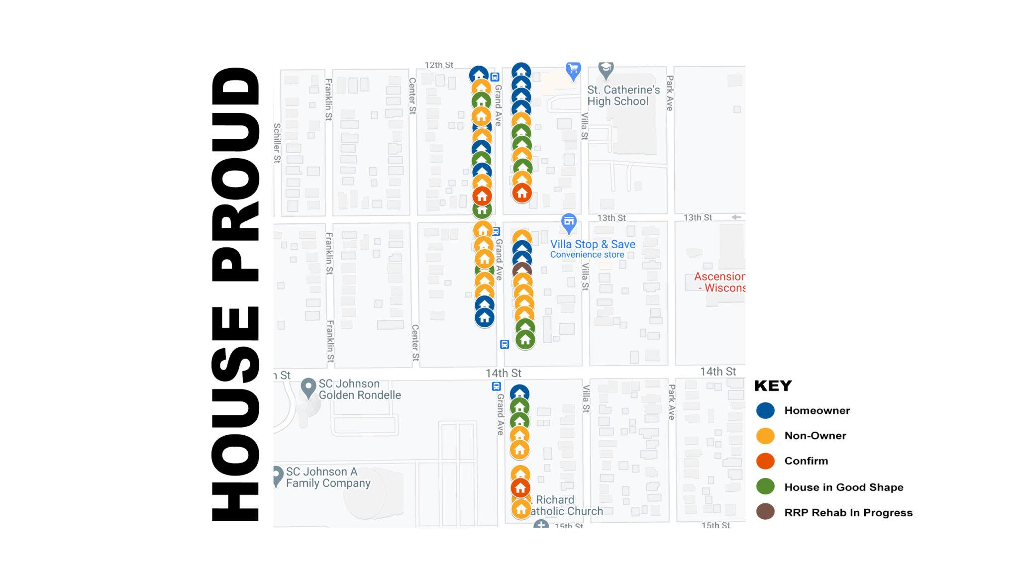 House Proud Map